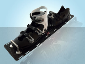 Reflex Double Boot Slalom Setup with R-Style Rear